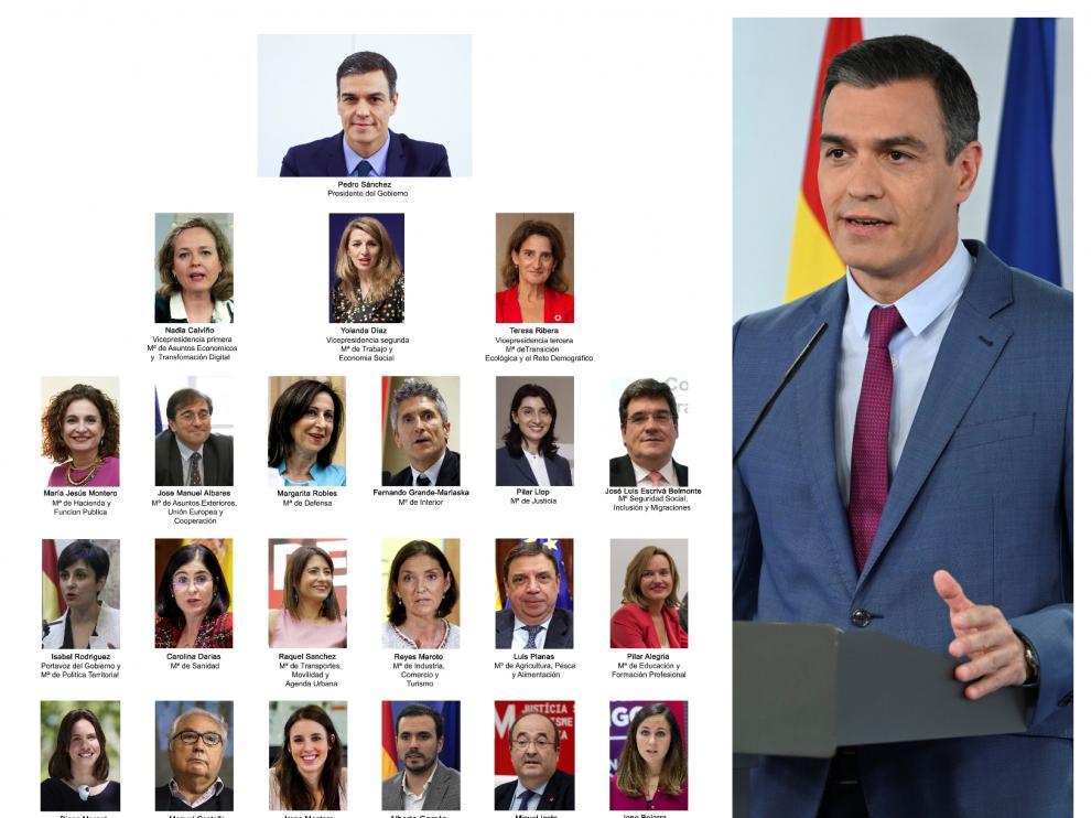 Estos son los cambios en la nueva remodelación de Gobierno de Pedro Sánchez