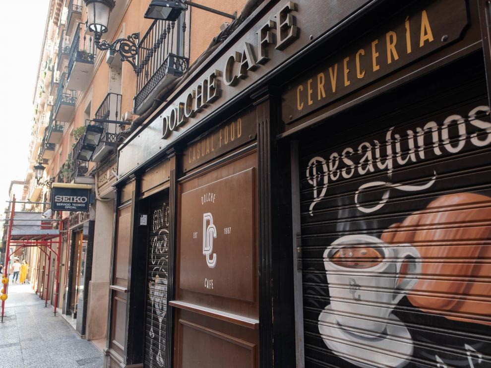 Dolche Café, en la calle de San Jorge, no volverá a abrir sus puertas como tal.