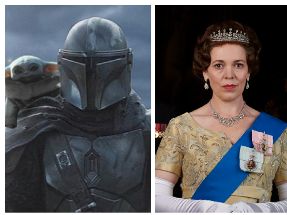 Mandalorian y The Crown