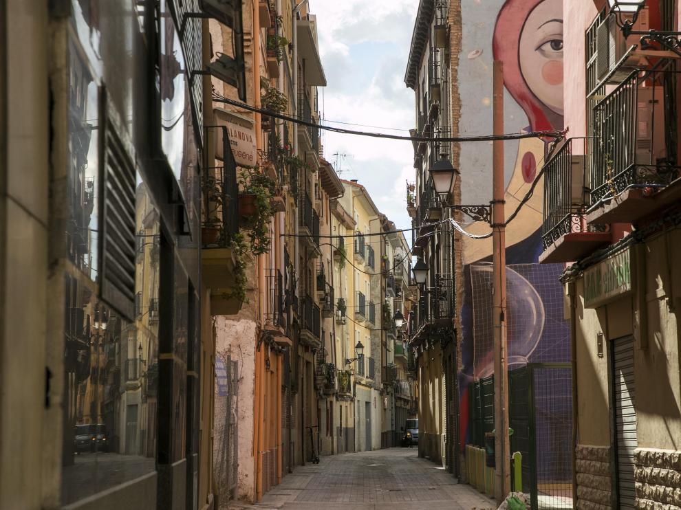 La calle de Agustina de Aragón.