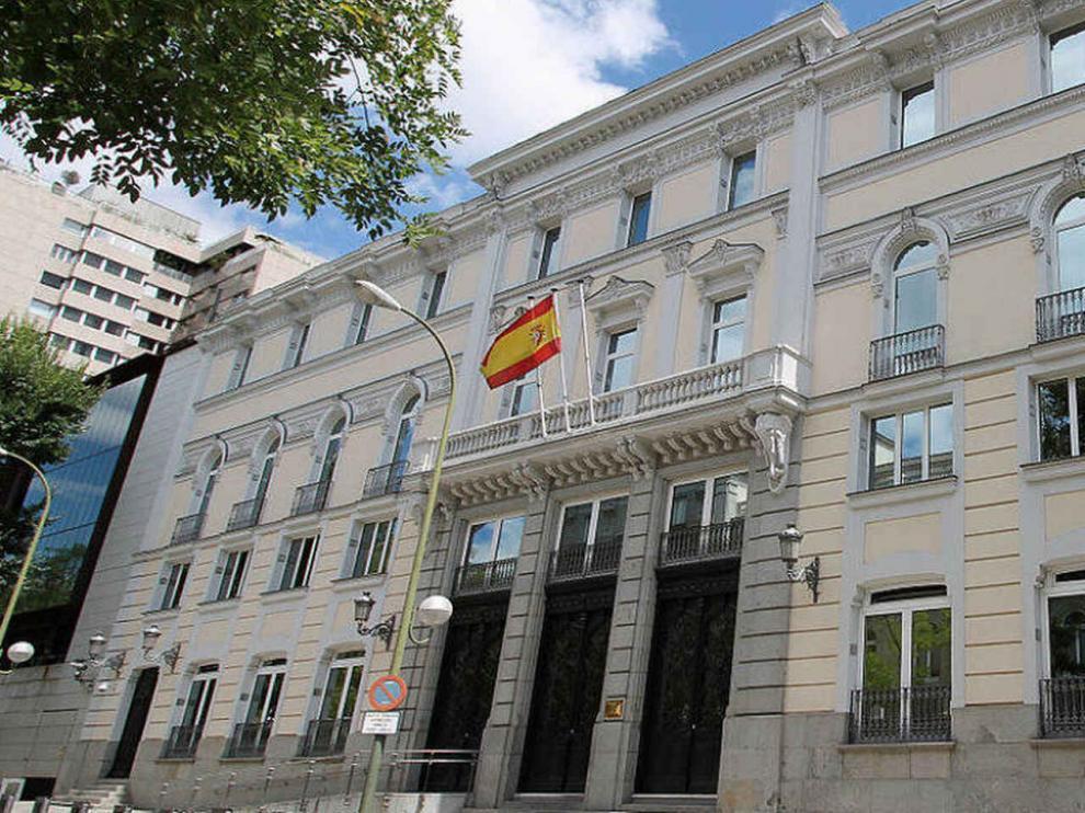 Sede del Consejo General del Poder Judicial (CGPJ).