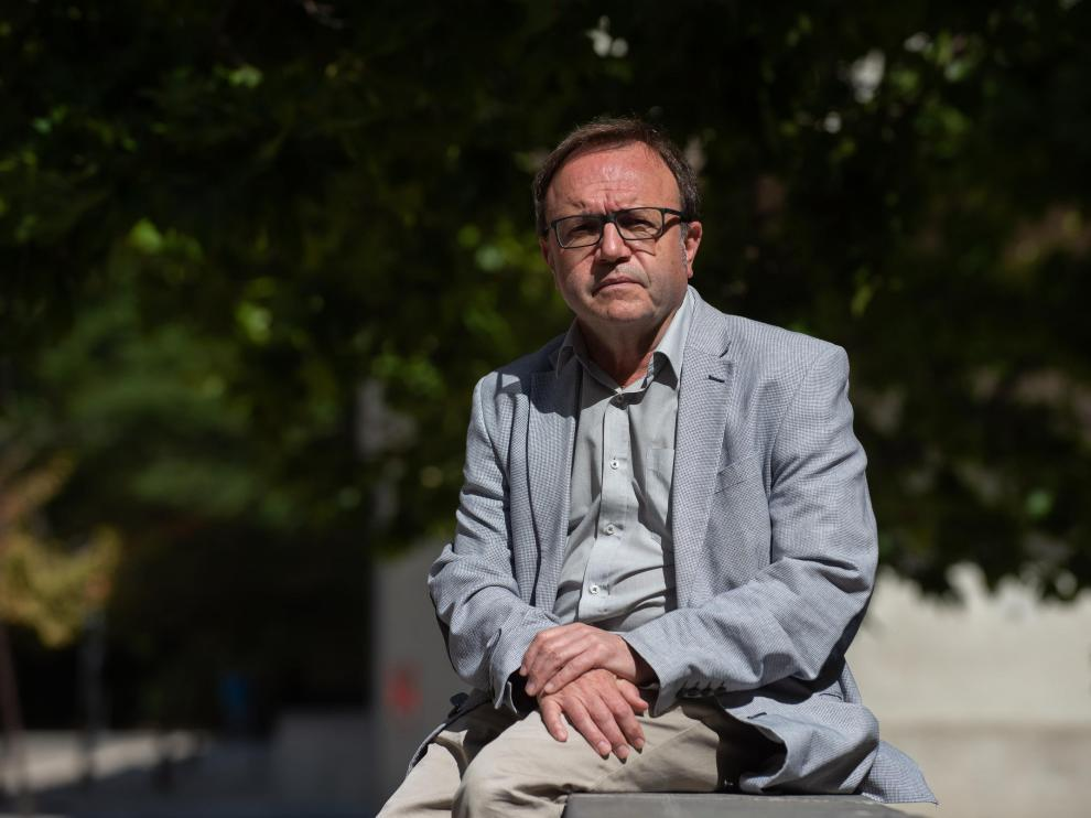 José Domingo Dueñas Lorente, en la Universidad de Zaragoza