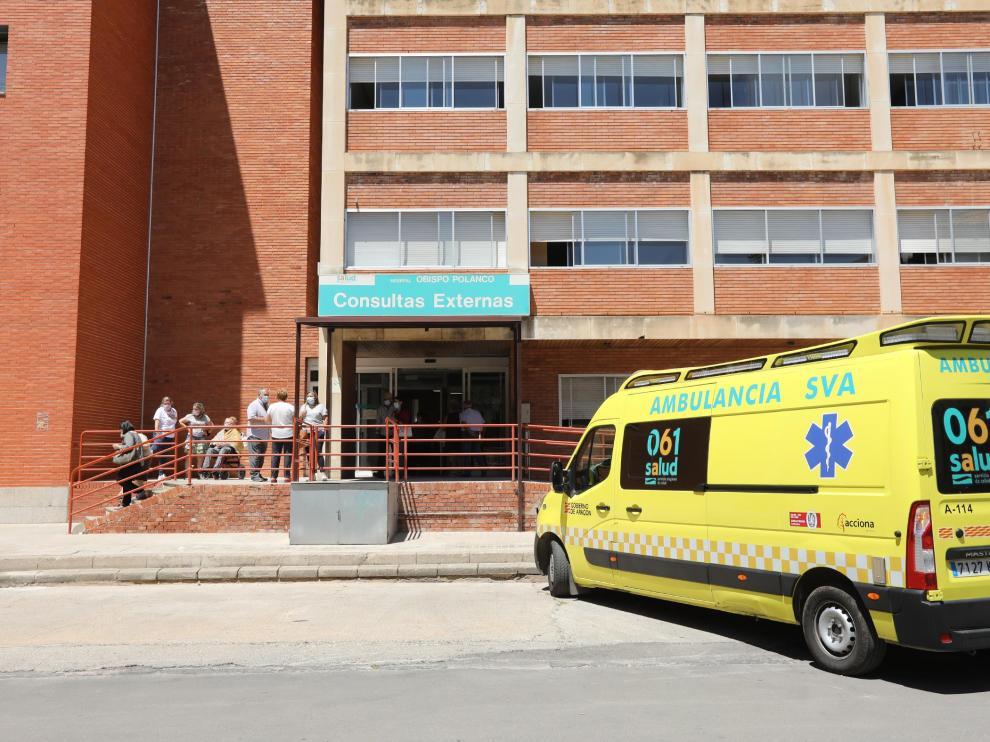 Hospital Obispo Polanco en Teruel .14/07/21.Foto: Javier Escriche[[[FOTOGRAFOS]]]