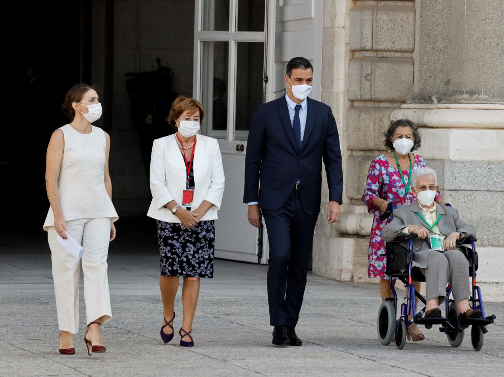 Acto de Homenaje de Estado a las Víctimas de la pandemia de la covid-19 y de reconocimiento al personal sanitario