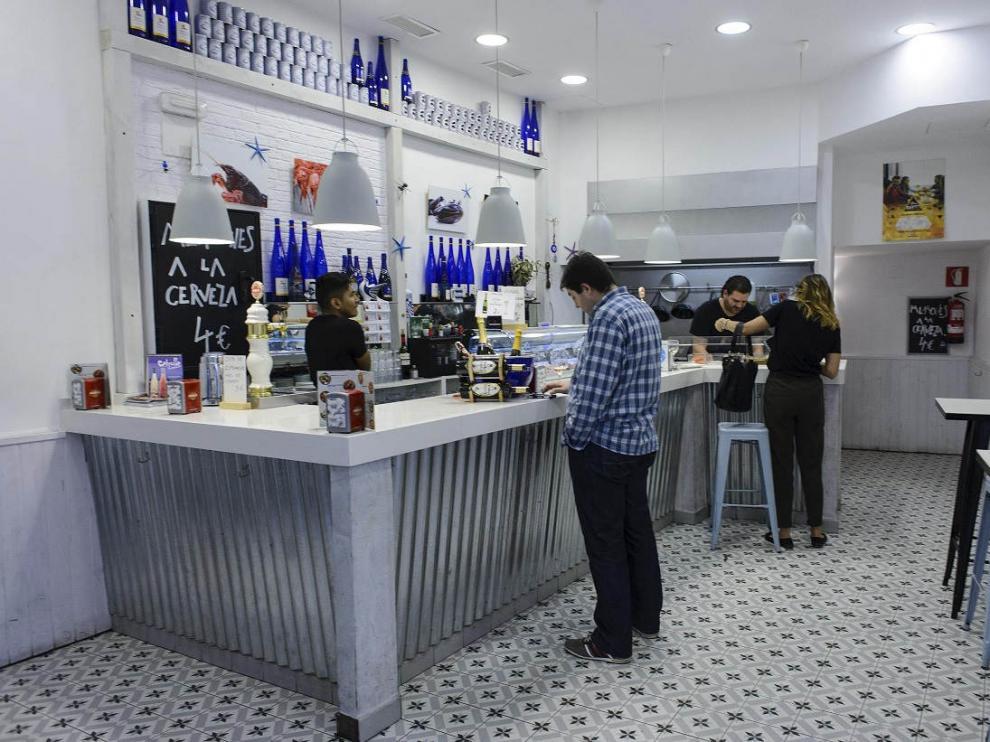 Bar El Hormiguero Azul en Zaragoza.