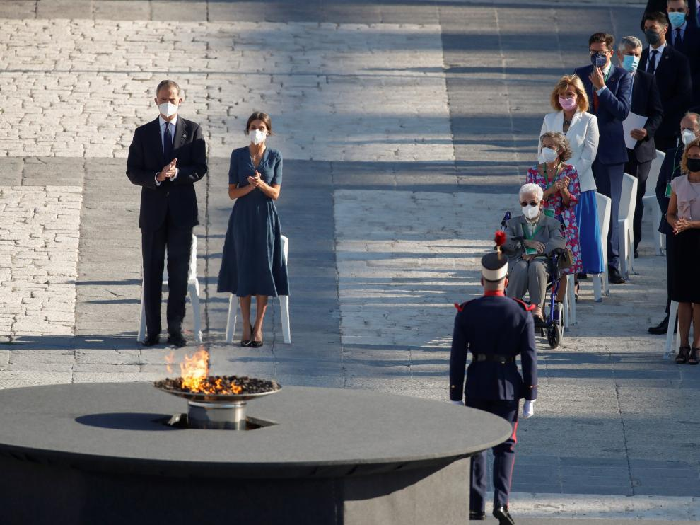 Homenaje a las víctimas de la covid