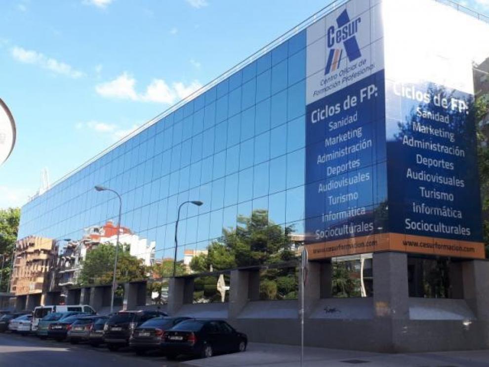 Imagen del centro de FP Cesur