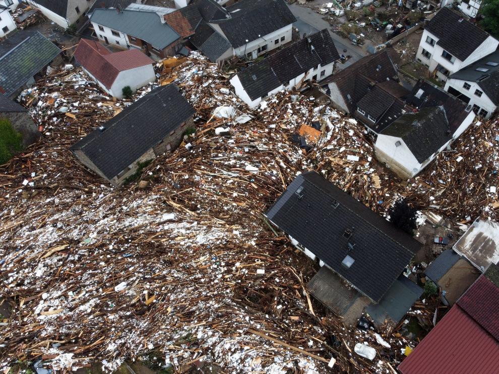 Consecuencias de las fuertes lluvias e inundaciones en Alemania