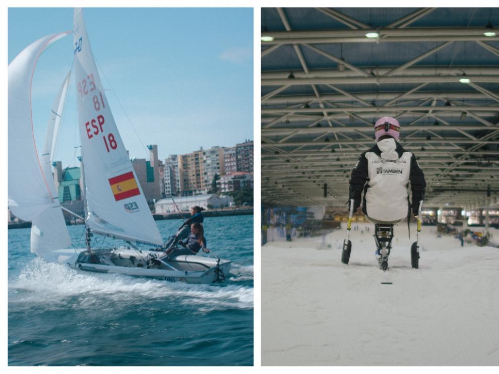 Silvia Mas y Audrey Pascual son dos de las jóvenes promesas del deporte español.