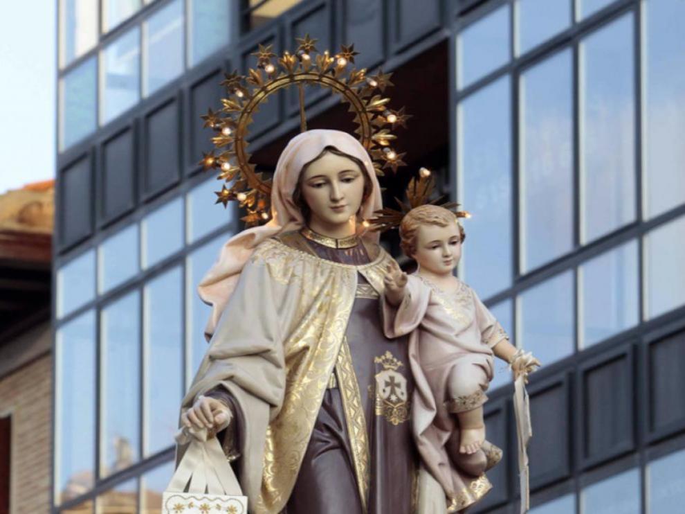 Virgen del Carmen.