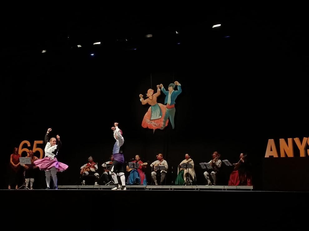 Una de las últimas actuaciones del grupo Sonar Turolense, que este domingo actuará en el Casino de Teruel.