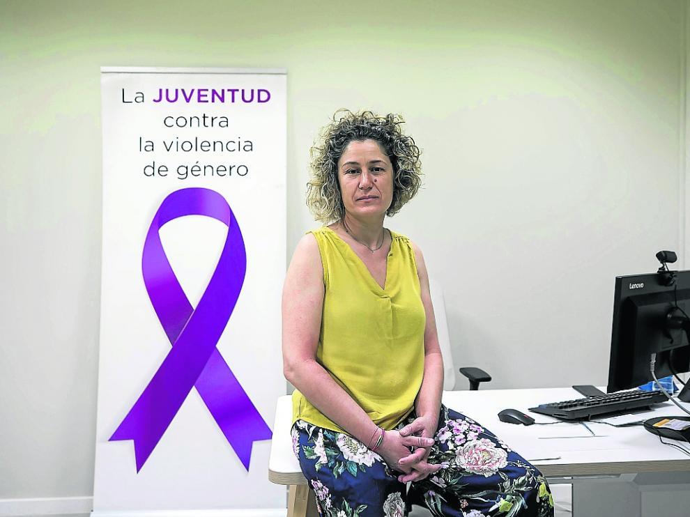 Ana Santos, psicóloga de Cavias que lleva la asesoría del Instituto Aragonés de la Mujer