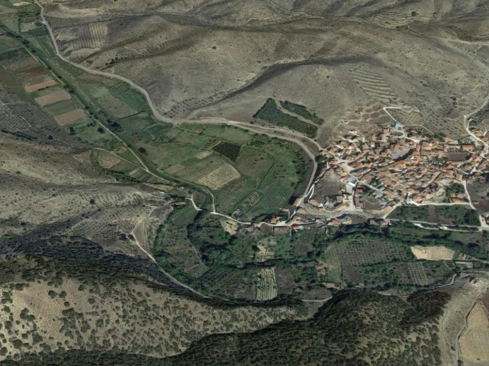 El accidente ha tenido lugar a la altura de la localidad de Carenas