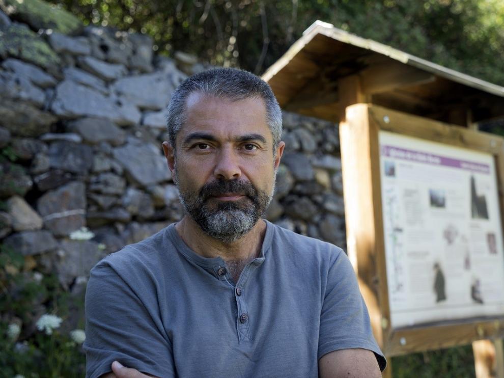 Antonio Cardiel en el valle de Pineta en 2018.