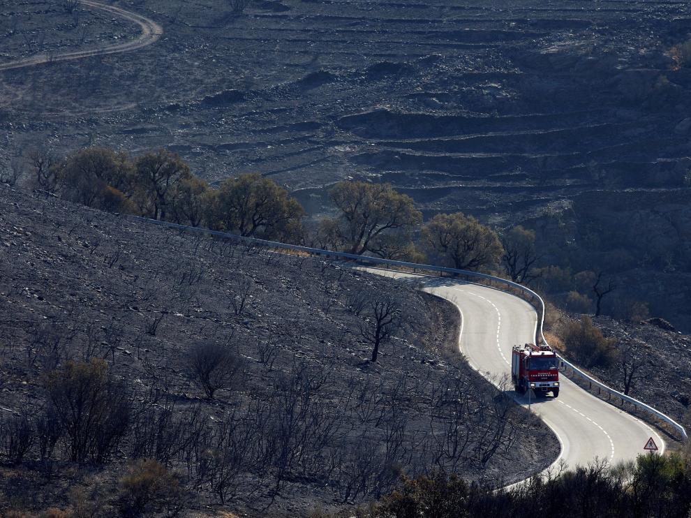 Estabilizado el incendio del Cap de Creus tras quemar 410 hectáreas