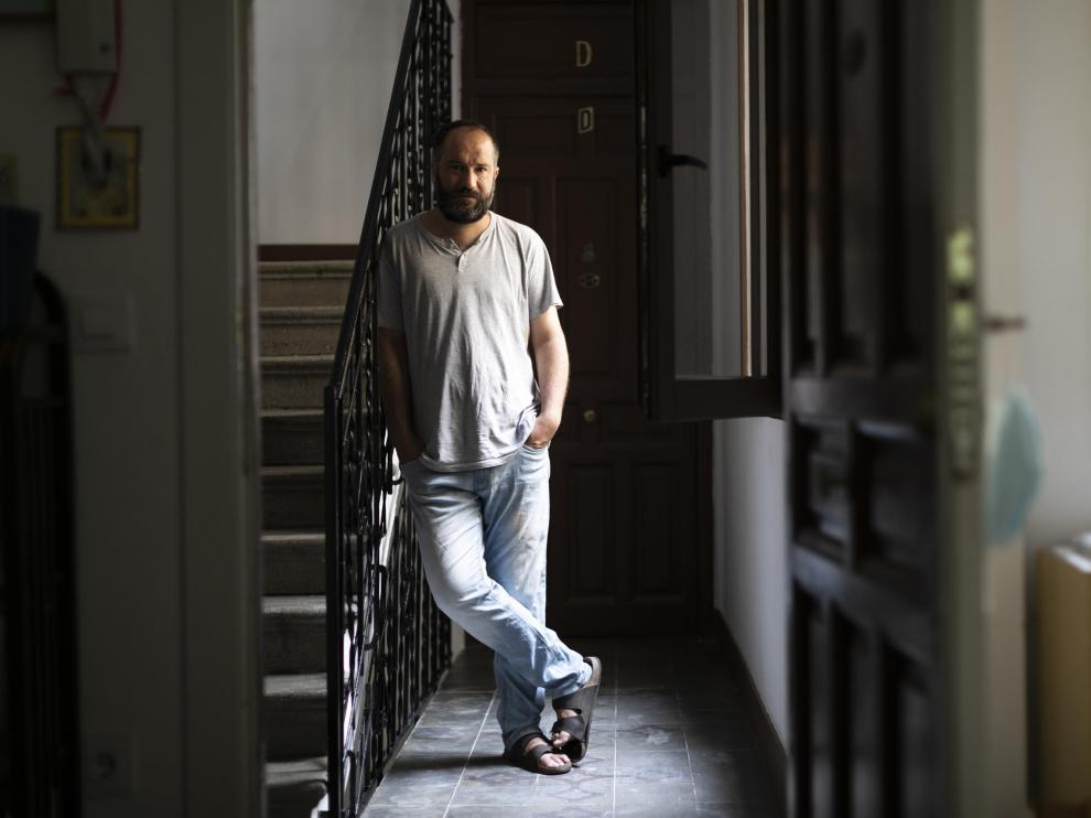 El escritor zaragozano Juan Marqués.