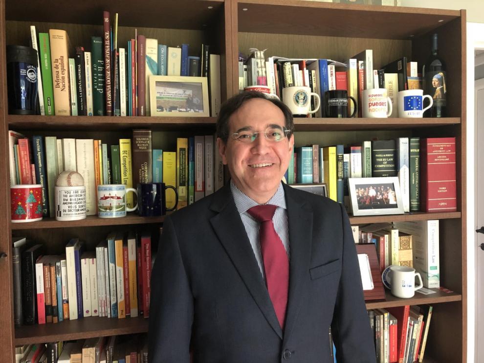 Sergio Baches, autor del libro '¡Fuego! La destrucción del monasterio de Sigena'