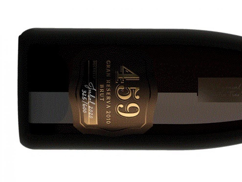 Botella de Codorníu Ars Collecta 459.