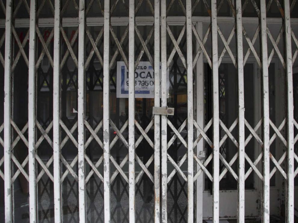 Locales cerrados en Zaragoza