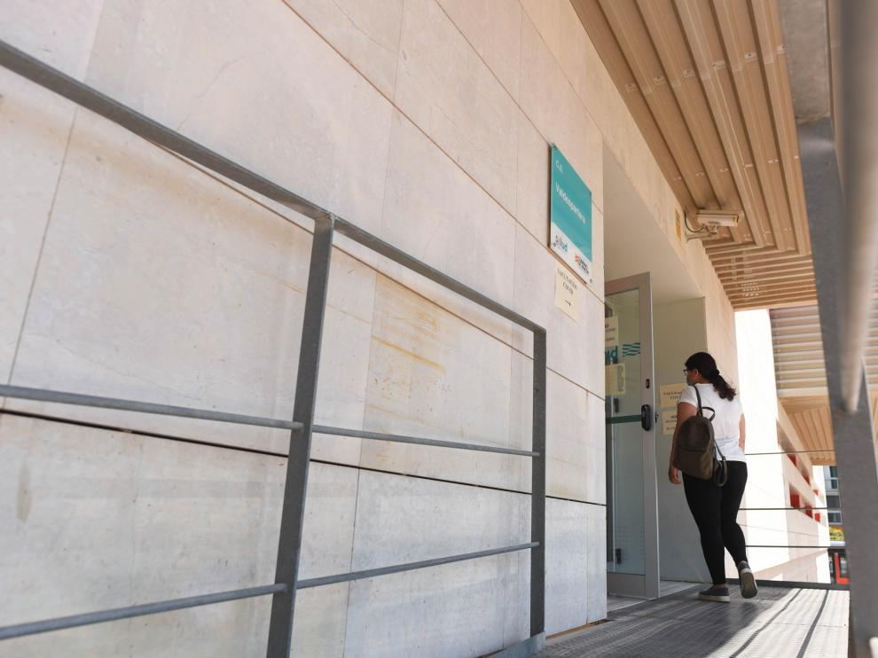 Vacunación contra la covid-19 en el Centro de Salud de Valdespartera.