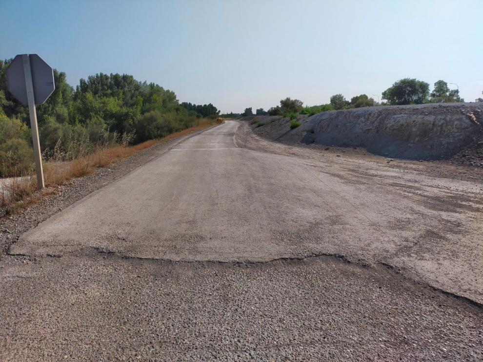 Montañana arreglará parte de uno de sus caminos más transitados