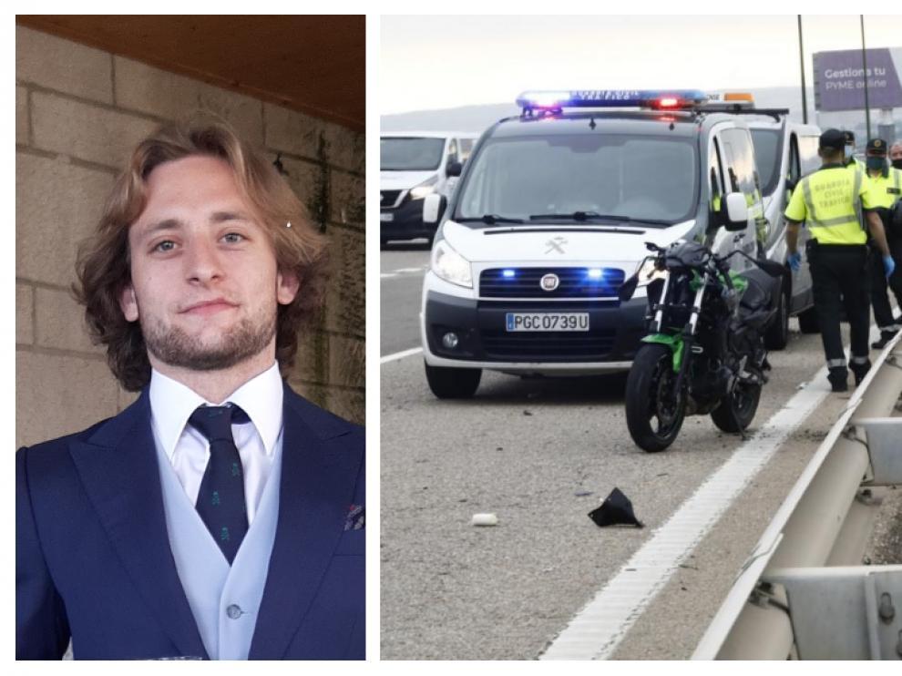 Rafael Soriano, apenas unos días antes de fallecer en accidente de tráfico en la Z-40.