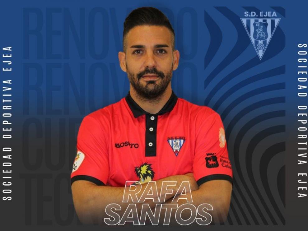 Rafa Santos, capitán del Ejea.