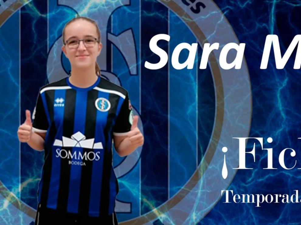 Sara Martín, nuevo fichaje del Intersala