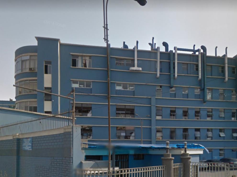 El caso fue descubierto en el hospital Almenara, en Perú