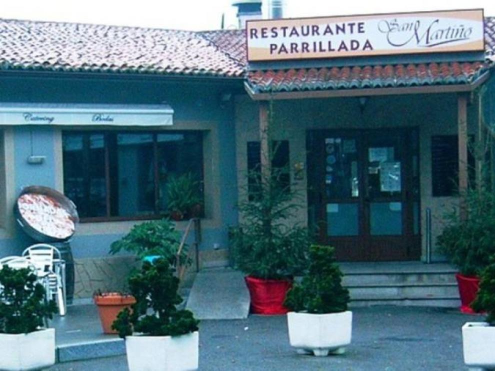 Restaurante San Martiño de Teo donde se cometió el 'simpa'
