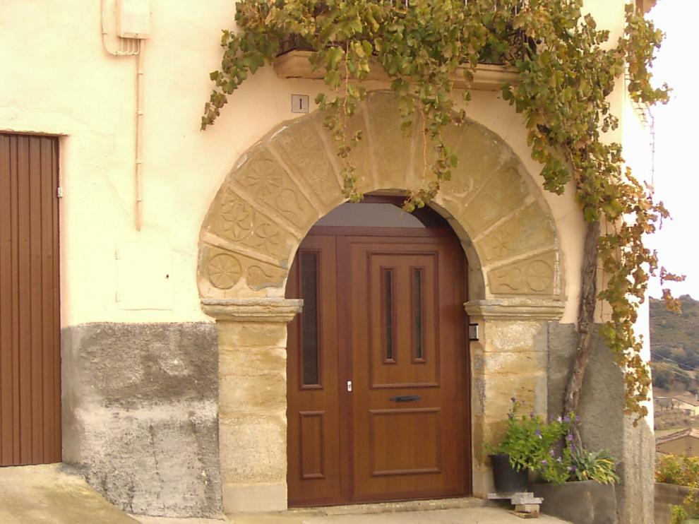 Vivienda en Pozán de Vero, una de las que se van a ocupar.