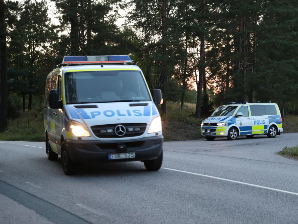 Hostages taken by inmates at Hallby Prison