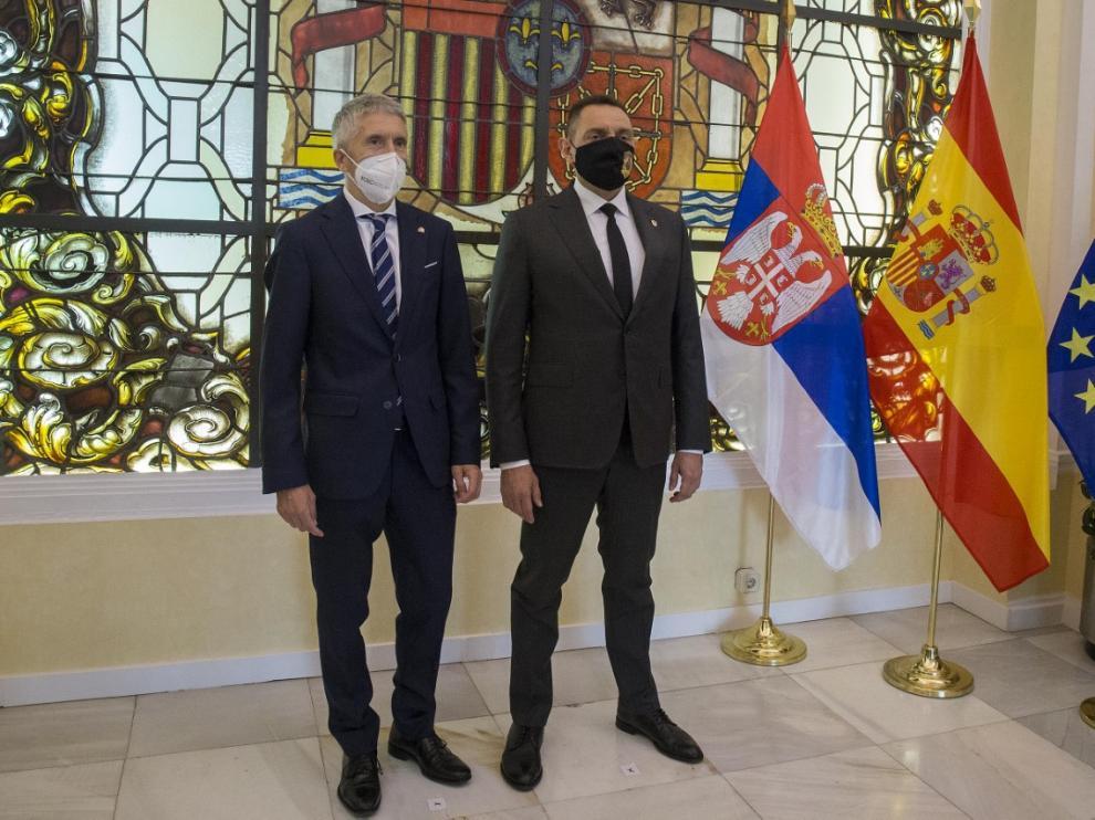 Los dos ministros se han reunido este jueves en Madrid para analizar el resultado de la operación antidroga.
