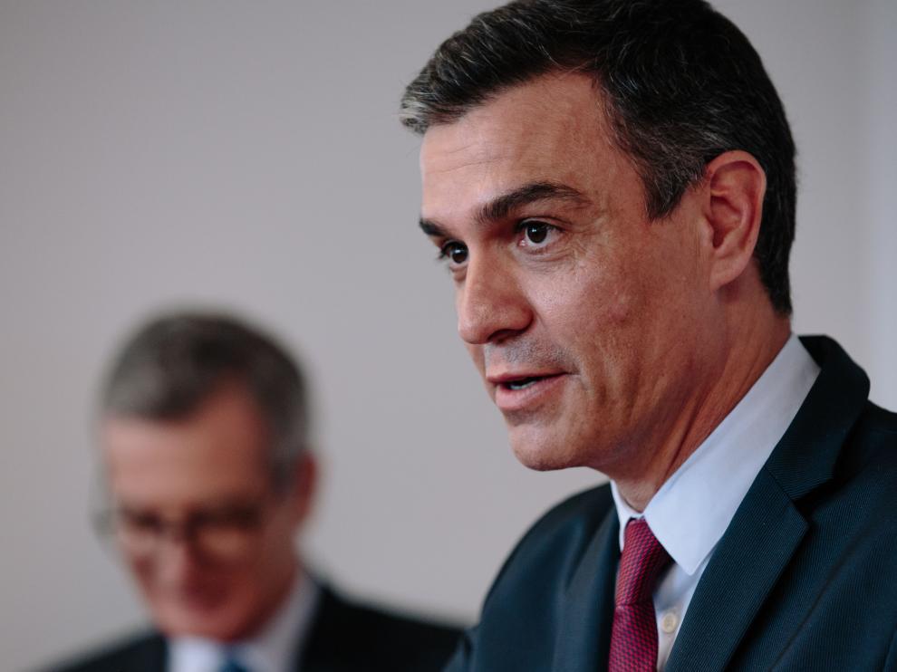 Spanish Prime Minister Pedro Sanchez economical tour in the United States
