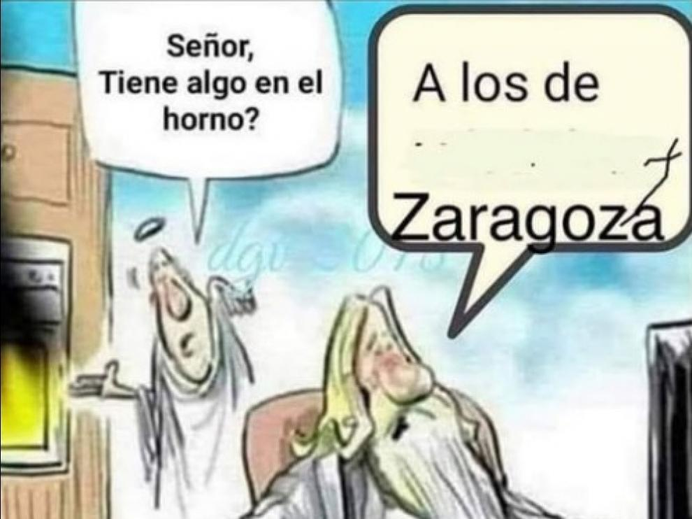 Los memes del calor en Zaragoza.