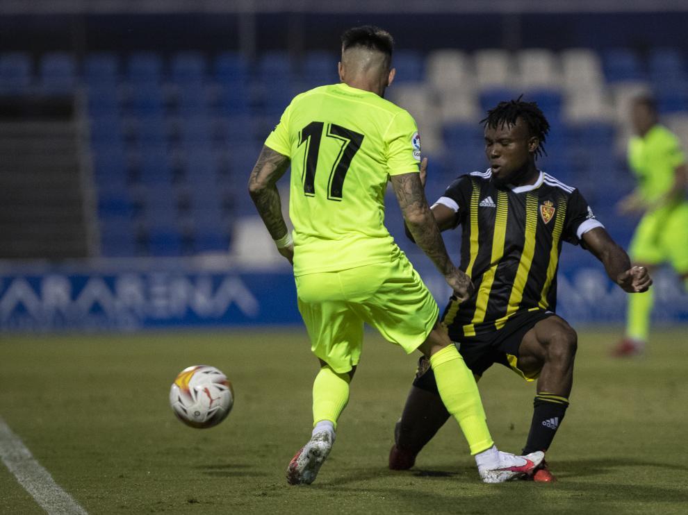 Elche  CF v Real Zaragoza, partido pretemporada, Pinatar Arena, Julio 24 2021, San Pedro del Pinatar, Murcia