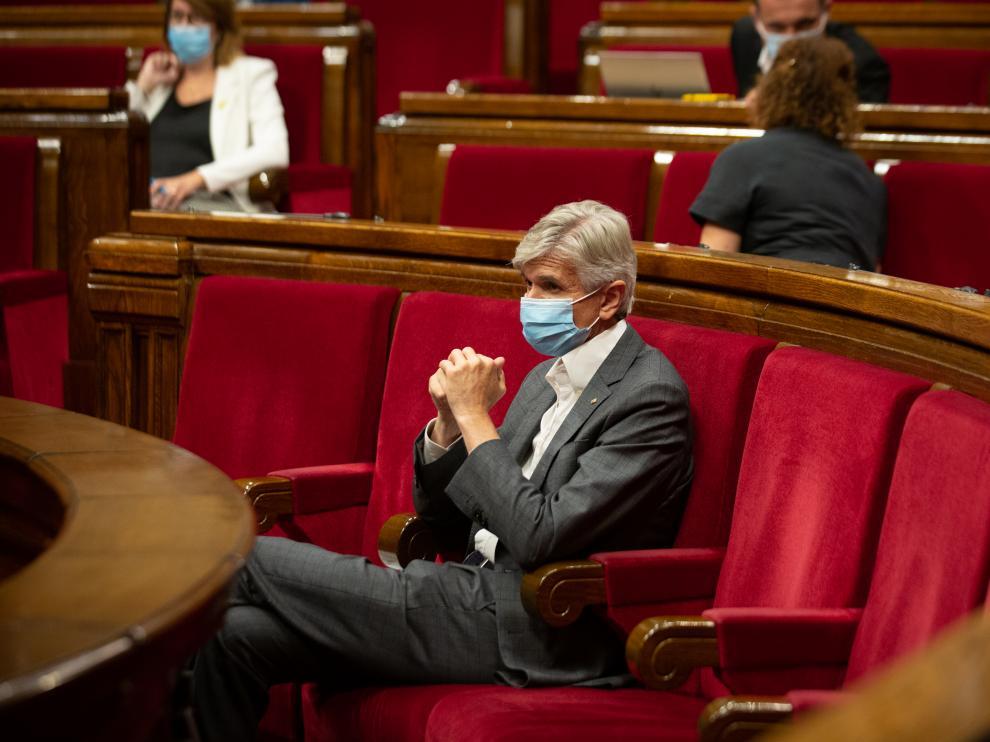 El consejero de Salud de la Generalitat, Josep Maria Argimon.