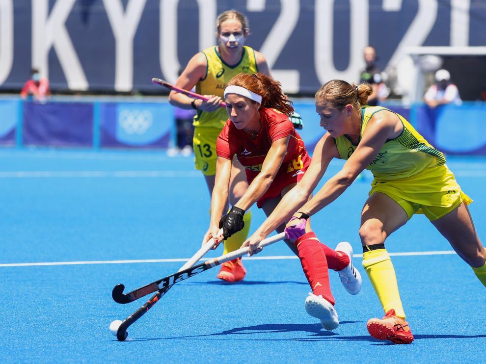 Hockey - Women's Pool B - Australia v Spain