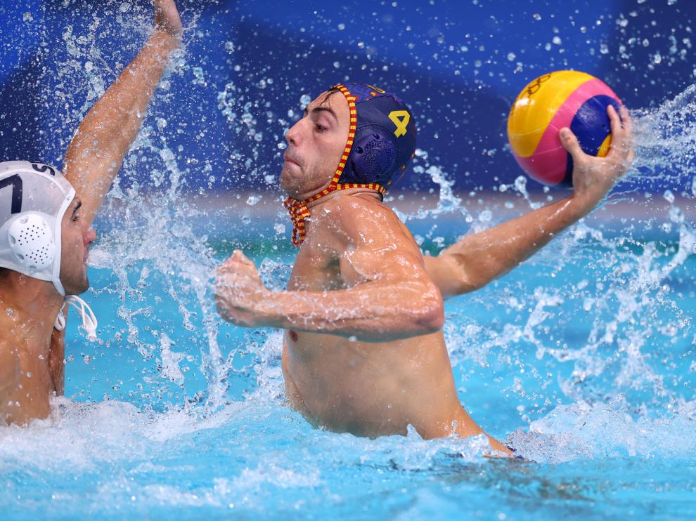 Water Polo - Men - Group B - Serbia v Spain
