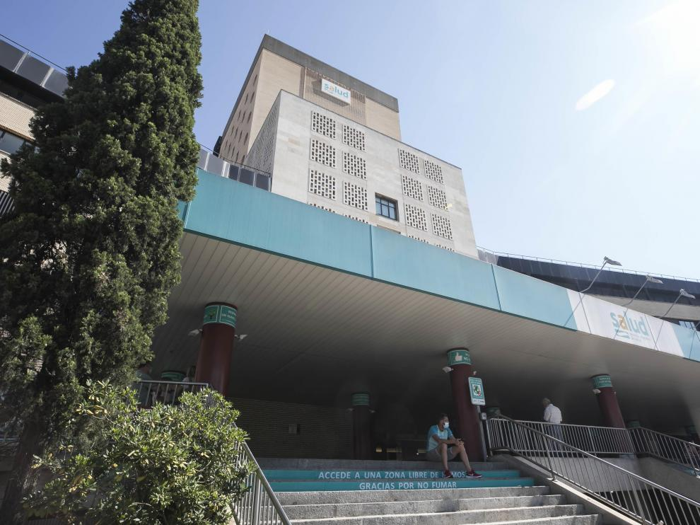 Hospital Clinico / 26-07-2021 / FOTO: GUILLERMO MESTRE[[[FOTOGRAFOS]]]