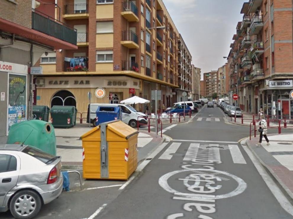 Una víctima de maltrato cae al río Ebro al huir de su expareja en Logroño