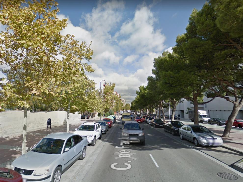Una imagen de la calle de Fray Juan Garcés, donde ocurrieron los hechos.