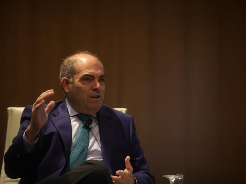 El presidente de ATA y vicepresidente de CEOE, Lorenzo Amor. 11/6/2021