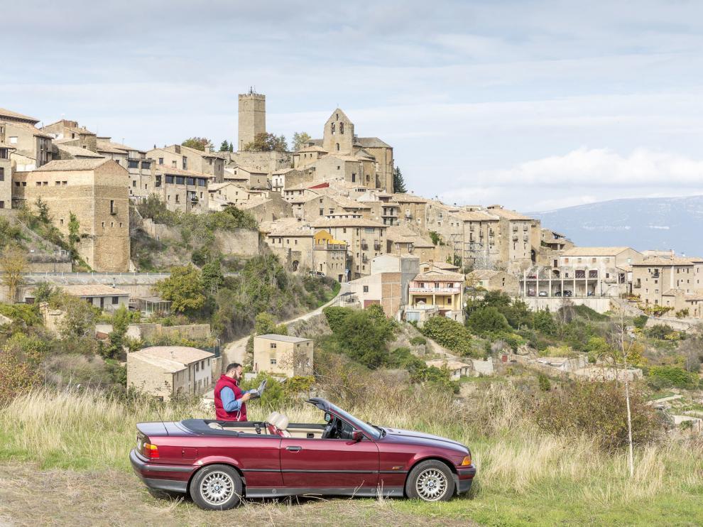 La ruta pasa por Sos del Rey Católico, en las Cinco Villas.