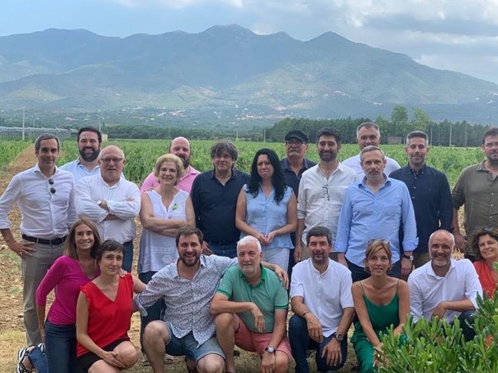 Paella de verano de Rahola, Puigdemont y amics