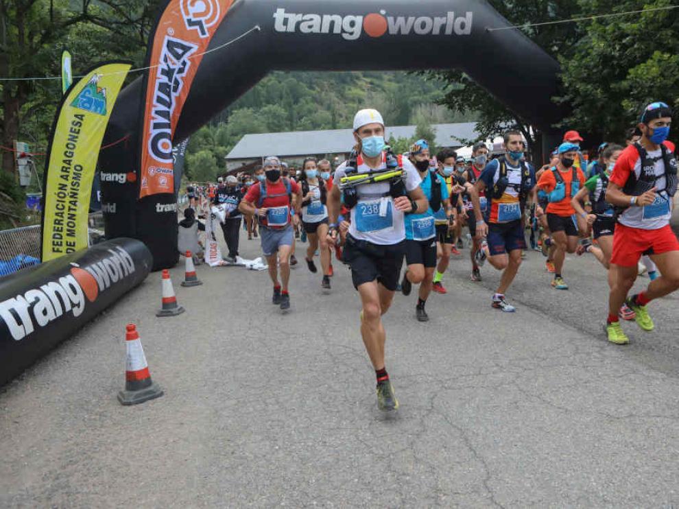 El GTTAP reunió a 1.243 corredores entre las pruebas del Gran Trail Trangoworld Aneto-Posets, la Vuelta al Aneto y el Maratón de las Tucas, con un estricto protocolo sanitario.