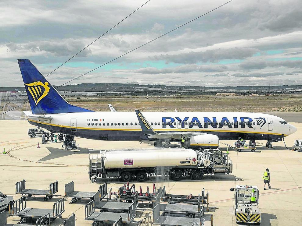 El aeropuerto incorporó a mediados de junio la ruta regular de Marrakech, en la fotografía, y en noviembre le debería llegar el turno a la de Viena.