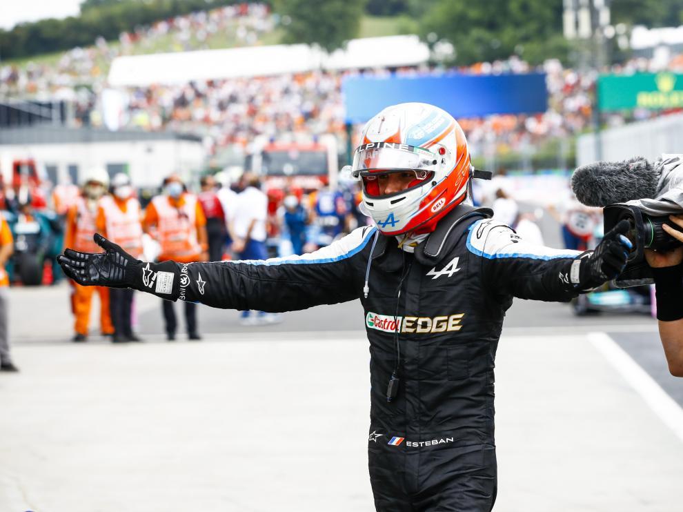 Ocon ganó en Hungría y Hamilton nuevo líder del Mundial