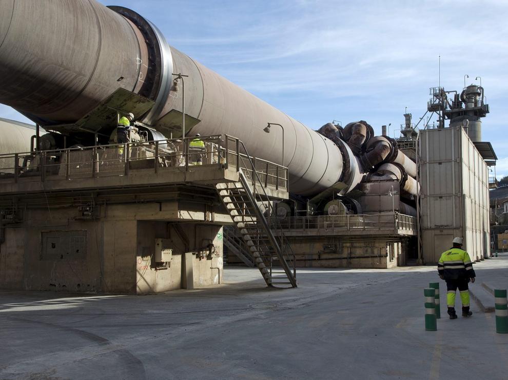 Imagen de la planta de Cemex en Morata de Jalón (Zaragoza).