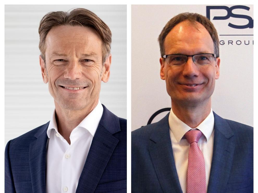 Uwe Hochgeschurtz y Michael Lohscheller.